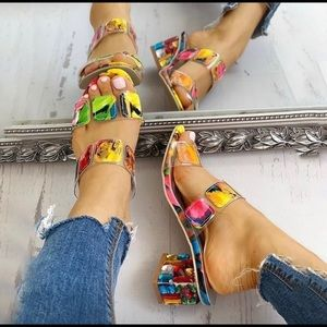 🌹Strappy Heel Sandals